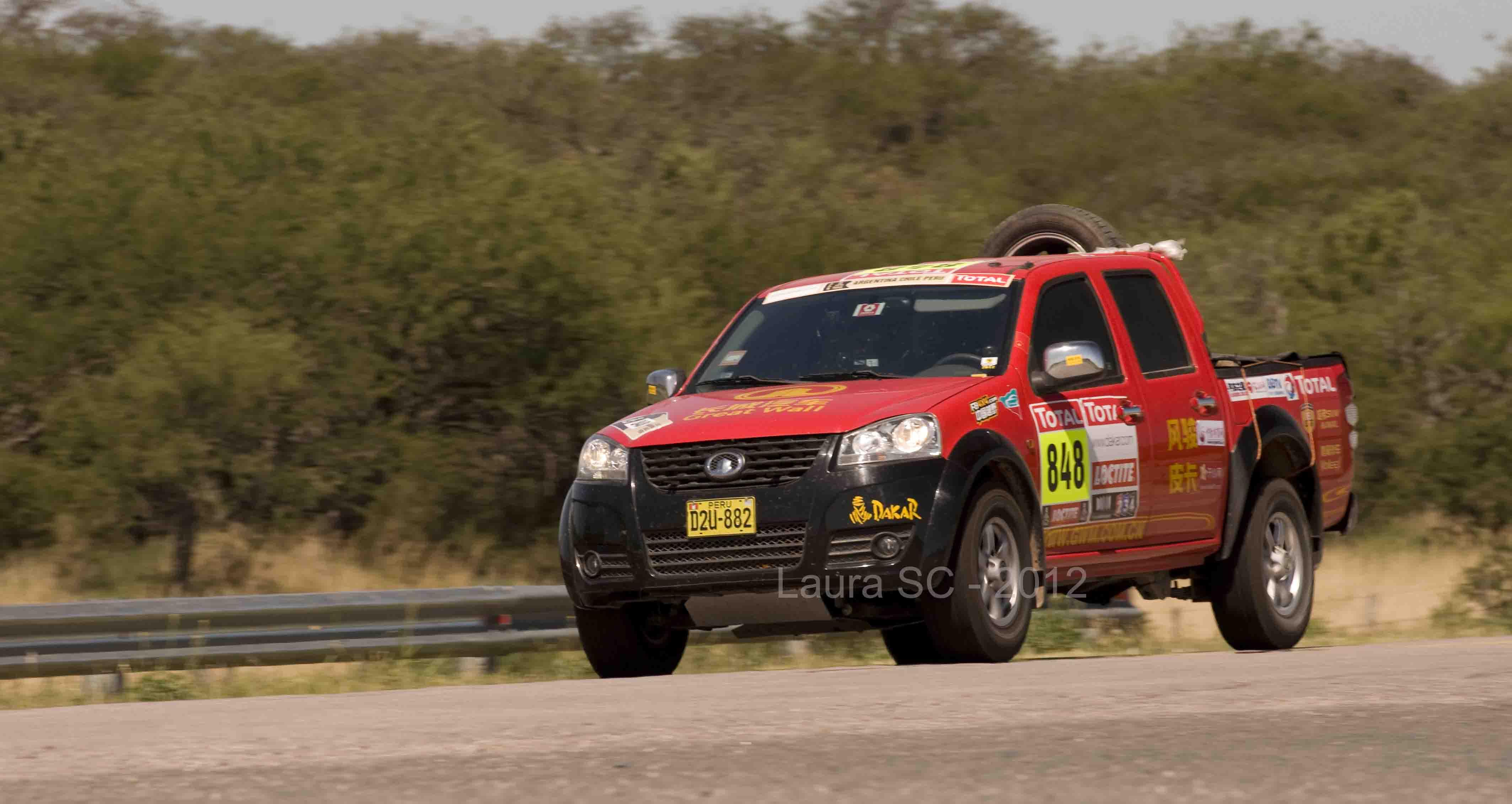 #Dakar2015 en Rosario